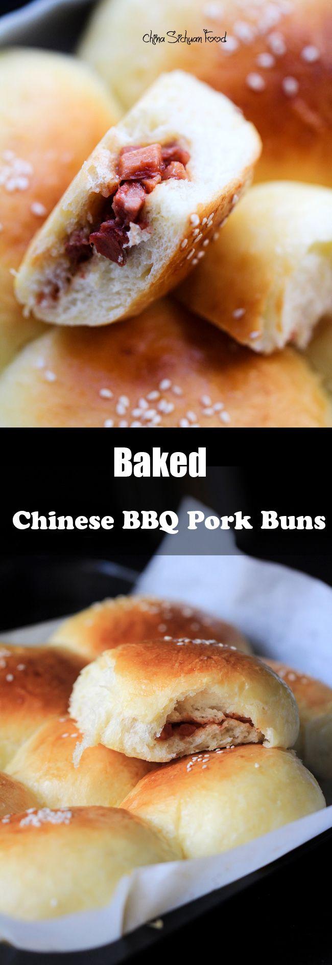 Baked Char Siu Bao---Chinese BBQ Pork Buns