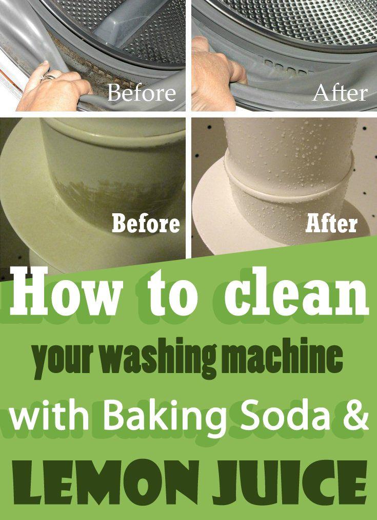 baking soda in washing machine