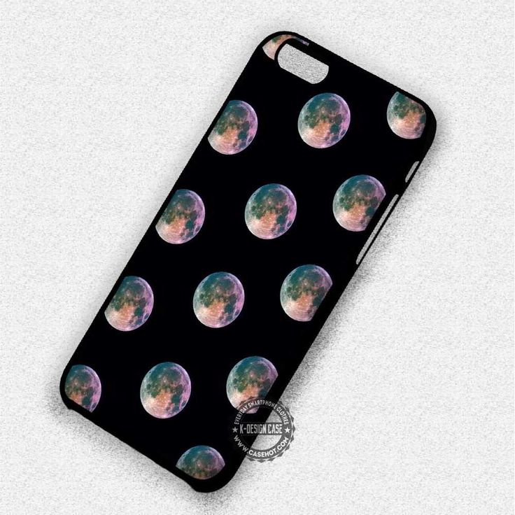 Moon Bokeh Pattern - iPhone 7 6S 5C SE Cases & Covers