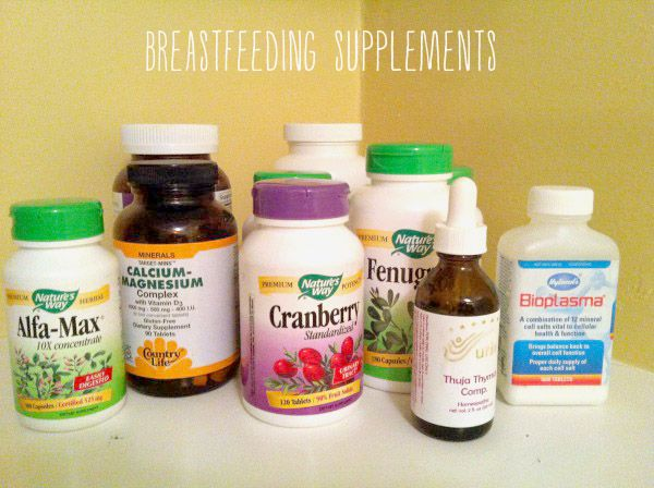 prenatal and breastfeeding supplements