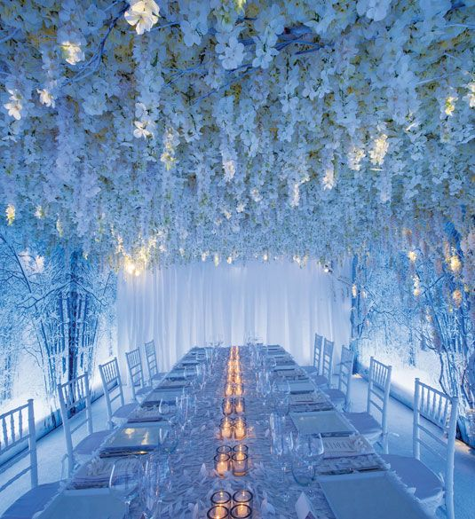 Gorgeous Wedding Flower Arrangements - Wedding Reception Flower Ideas - Cosmopolitan