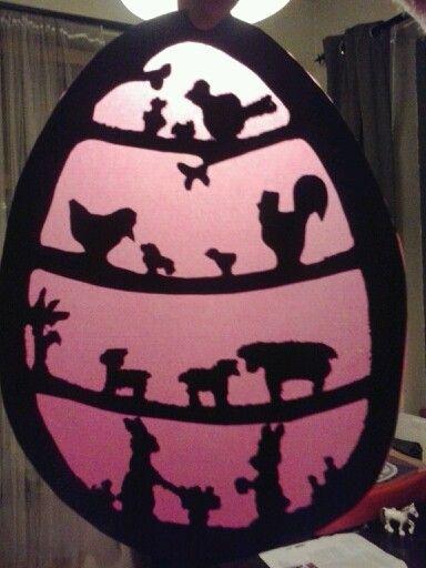 Pasen Easter kids craft Osterbastelei
