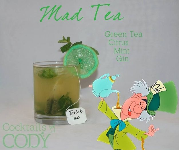 All the Disney drinks you could imagine - can't wait to try the green tea one!