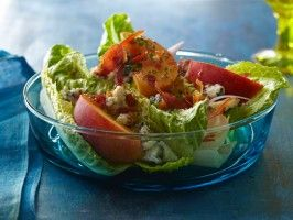 200 best chuck hughes images on pinterest recipes food network peach and blue cheese salad forumfinder Choice Image