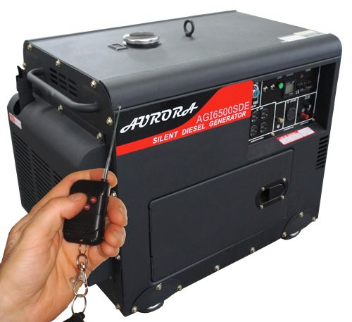 Silent Portable Diesel Generator. 6500 Watts.  The only brand in North America that meets UL and CSA standards!