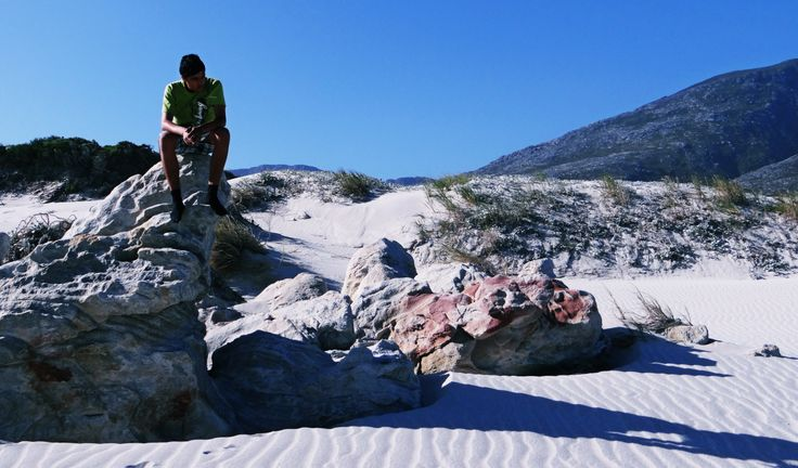 Rocking it, Betty's Bay, South Africa
