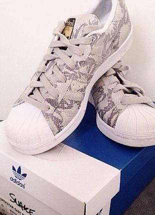 Adidas Superstar snake