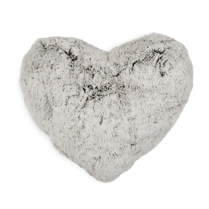 Heart Fur Scatter Cushion