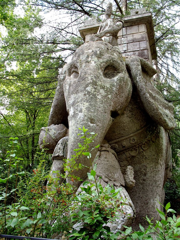 Great Sacred Wood of Bomarzo Italy Parco dei Mostri Park of the Monsters