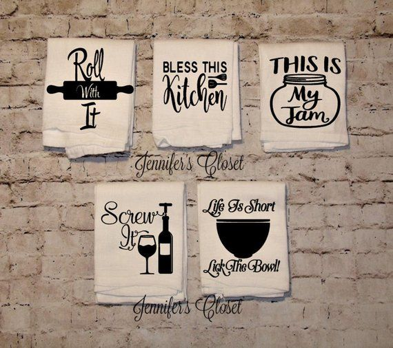 Kitchen Hand Towels, Funny Kitchen Towel, Cooking Gifts