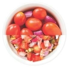 Great for chopping vegetables, chopping herbs, making chunky sauces, salsas and guacamole.