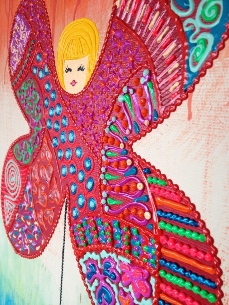 Close up from my 3d Art By artist Marilyn van Raaij from Holland Http//:www.marilynvanraaij.nl