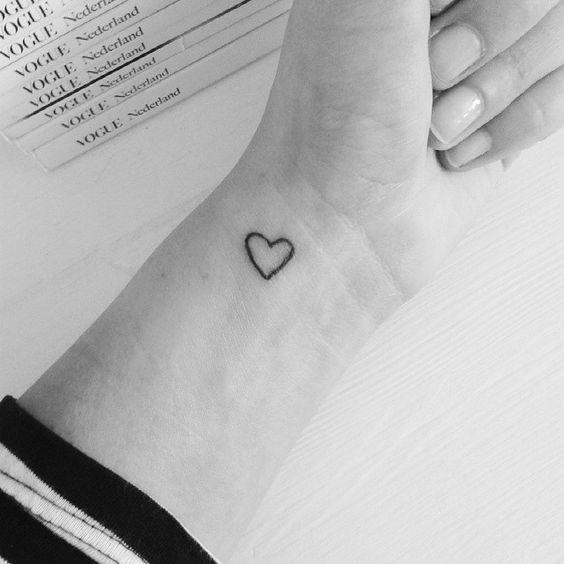 16x de mooiste kleine tatoeages - www.lamemechose.nl