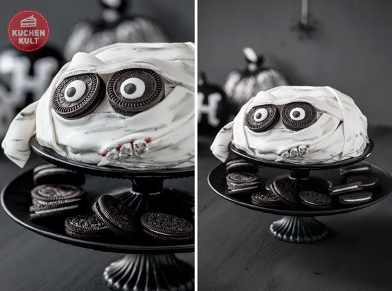 Halloween,Torte,Mumie,Tutorial