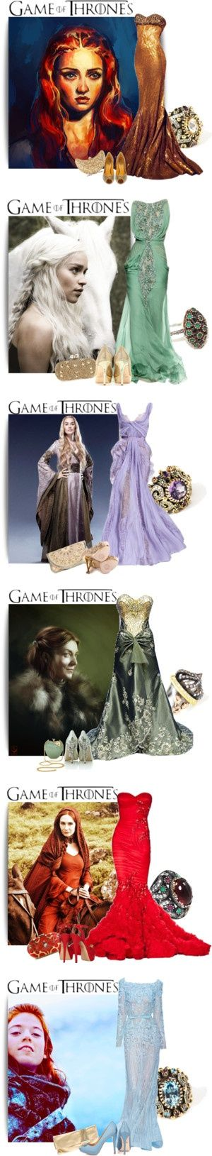 Amazing  Game of Thrones by selmaamzi liked on Polyvore