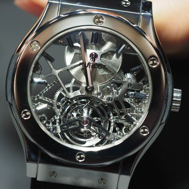 Hublot Skeleton Tourbillon Titanium