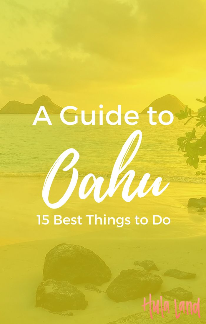 The 15 best things to do on Oahu including Lanikai Beach, Hanauma Bay, and the north shore. This list is the very best of Hawaii