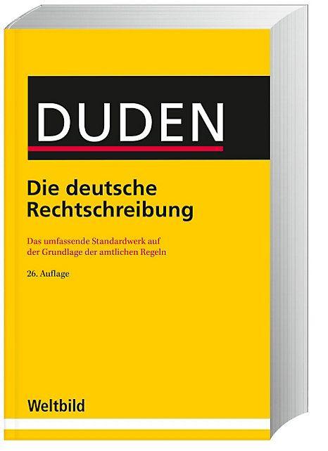 Der DUDEN: Die aktuelle Auflage als preiswerte Weltbild-Ausgabe. #duden #rechtschreibung #schule #weltbild