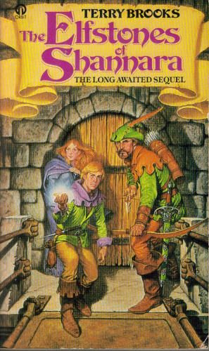 Shannara III: The Elfstones Of Shannara by Terry Brooks (1982) | When Wil Ohmsford is summoned to guard the elven girl Amberle on a perilous quest, he is faced with the Reaper, the most fearsome of all Demons