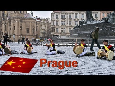 Chinese young musicians in Prague