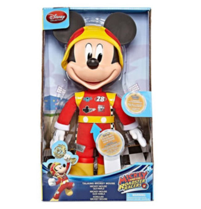 """Mickey Mouse Talking Mickey 15"""" Doll from Mickey & The Roadster Racers Disney #DisneyJunior"""