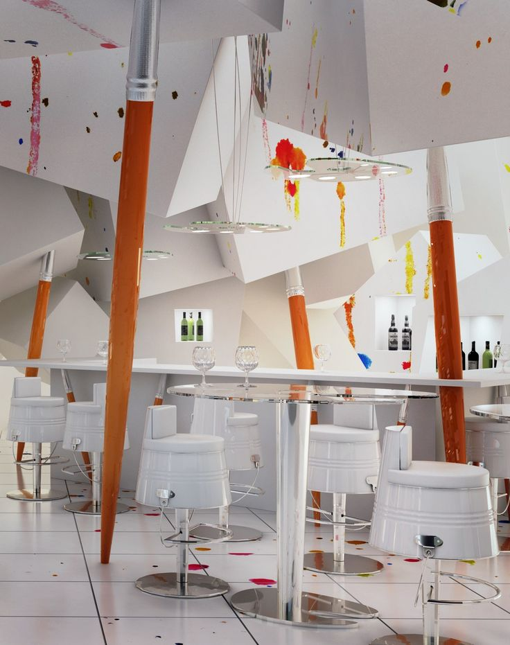 "PRACOWNIA Club&Eating Place Creatively Simulating a Painter's Studio , This original restaurant design is called Pracownia (which in Polish means ""workshop"") because it was envisioned as a light pastiche of a painter's studio. , Admin , https://www.listdeluxe.com/2017/12/17/pracownia-clubeating-place-creatively-simulating-a-painters-studio/ ,  #Pracownia, , PRACOWNIA Club&Eating Place Creatively Simulating a Painter's Studio"
