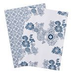 Philosophy China Blue A2 Gift Wrap, currently AU$5.95 per sheet from Officeworks (AU) #giftwrap #wrappingpaper