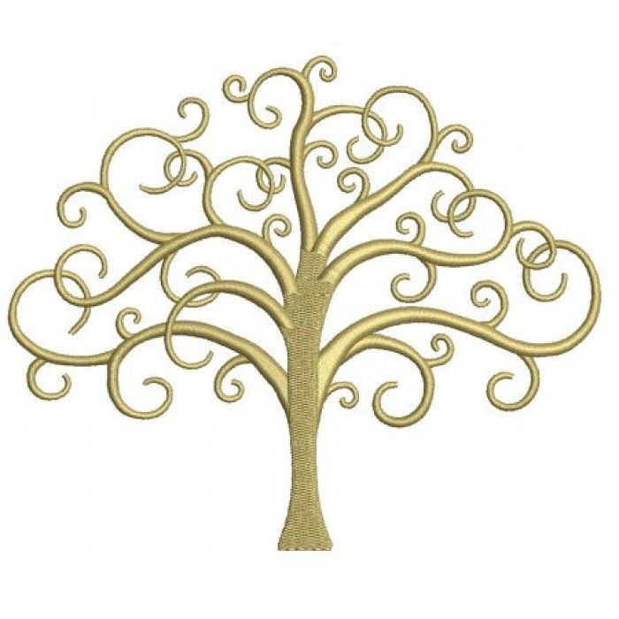Tree Of Life Machine Embroidery Digitized Design Pattern