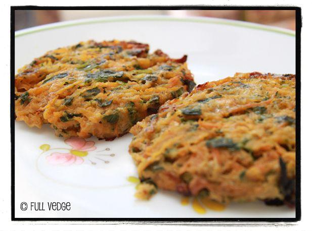 Full vedge - Recettes végétariennes et gourmandes!: Croquettes de légumes au parmesan