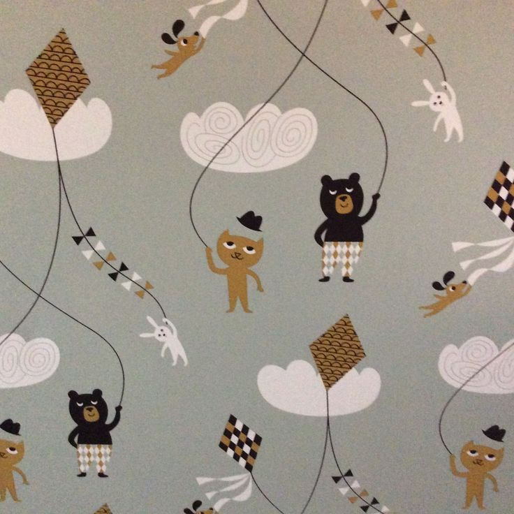 Kite wallpaper by Ferm Living