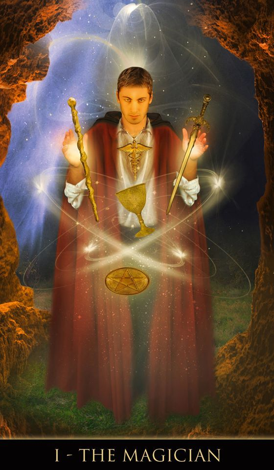 Tarot D The Didactic Tarot By Jeffrey M Donato: The Magician Images On Pinterest
