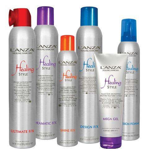 Styling με υφή, κράτημα & θεραπευτικές ιδιότητες για τα μαλλιά.
