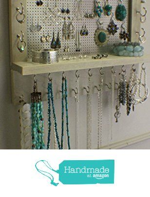 On Sale!!! You Pick The Satin and Mesh Wall Mounted Jewelry Organizer from The Knotty Shelf https://www.amazon.com/dp/B01A6EGP3U/ref=hnd_sw_r_pi_dp_3uPbzb4SGHZ4F #handmadeatamazon