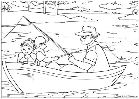 preschool family themed coloring pages - photo#18