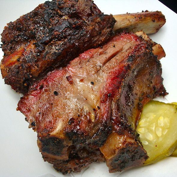 Texas Salt & Pepper Beef Ribs @ Big Apple BBQ Block Party 2012