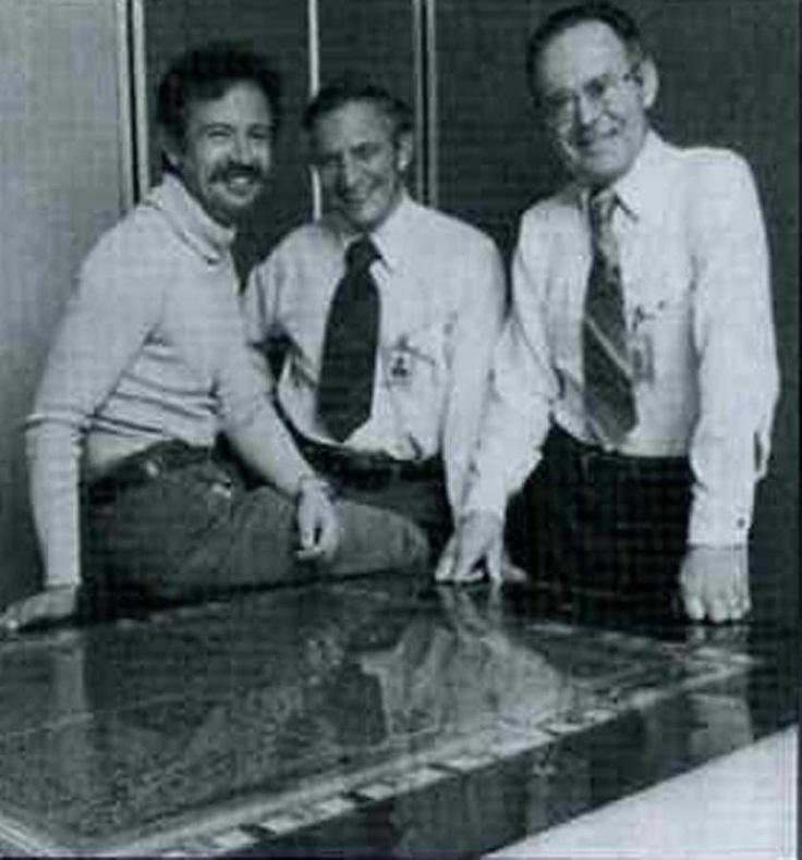 Andy Grove, Robert Noyce, Gordon Moore