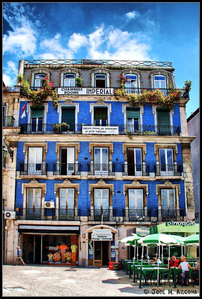Pensão Imperial, Praça dos Restauradores, 78. Lisboa