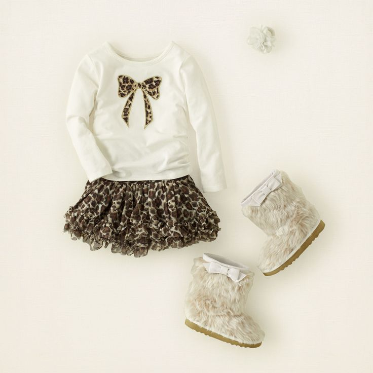 baby girl - outfits - kitty cream   Children's Clothing   Kids Clothes   The Children's Place #bigbabybasketsweeps