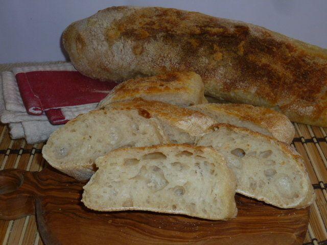 stecche di pane senza impasto