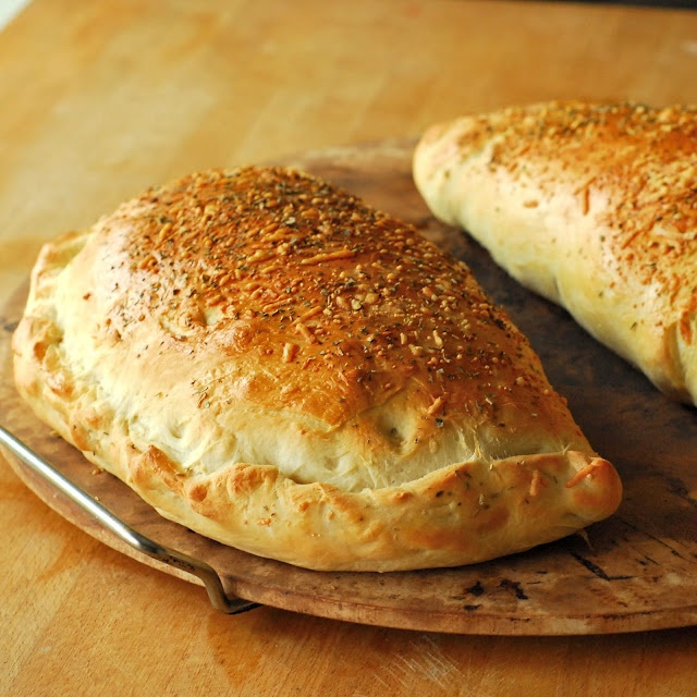 : Calzones- made these tonight!  So yummy!  I will be making these again!
