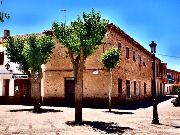 El Viso del Marqués . Ciudad Real. Plaza Mayor.