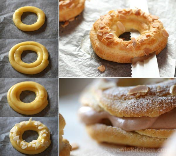 Hi, I made Paris-Brest today. There are many choux (puff) based pastry in French pastry: choux buns, Paris-Brest, religieuses, éclairs, St-Honorés, etc. All of them are major items at pastry shops and major tea rooms in Paris. Paris-Brest is normally made with praliné which has strong hazelnut flavor. So today I tried to make Paris-Brest …