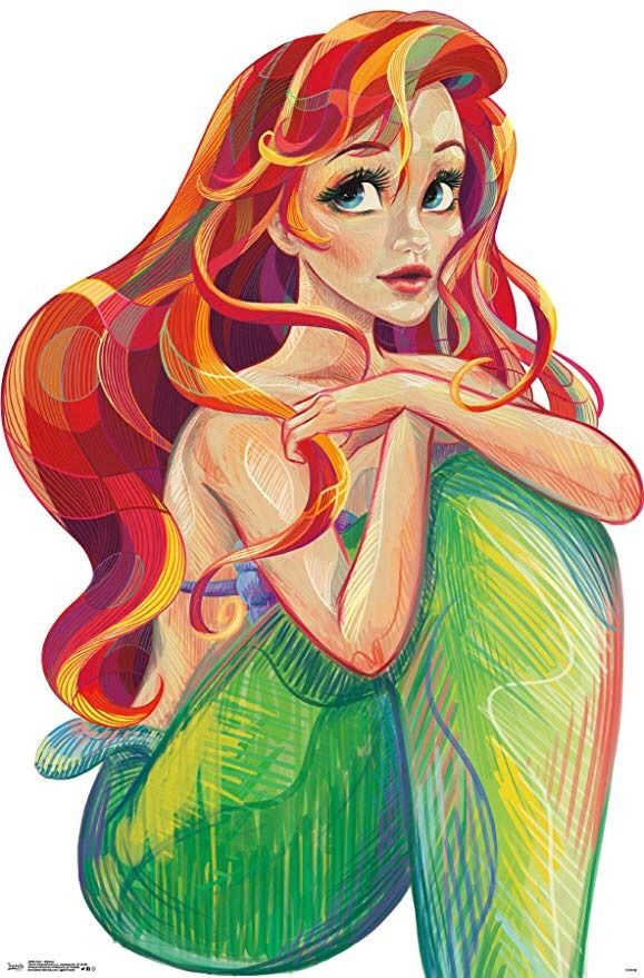 Wolves Are Supposed To Be Brave Aren T They Disney Little Mermaids Ariel The Little Mermaid Mermaid Drawings