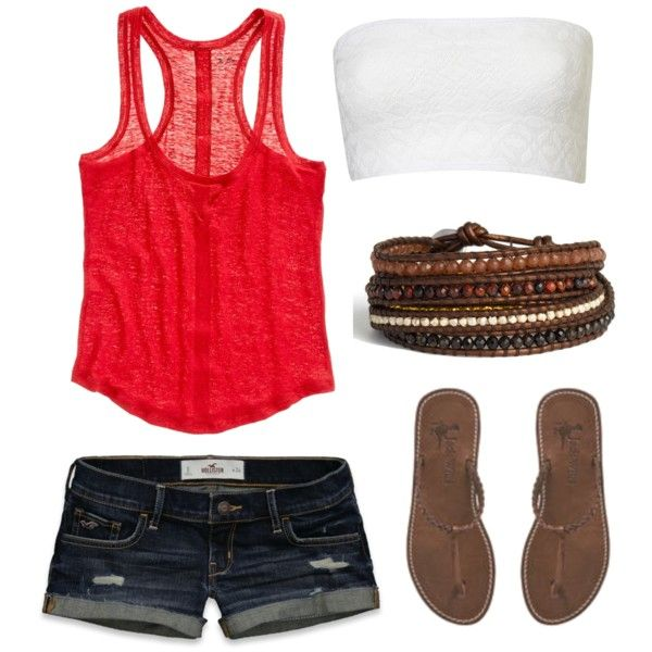 Cute & comfySummer Looks, Summer Day, Beach Outfit, Summer Style, Summertime Outfit, Cute Summer Outfit, Tanks Tops, Stuffed French Toast, Dreams Closets