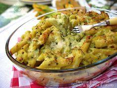 Oggi un primo piatto ricco e saporito, con le immancabili zucchine dell'orto..... ricominciamo la cura di stagione :mrgreen: Potrete preparare il ........