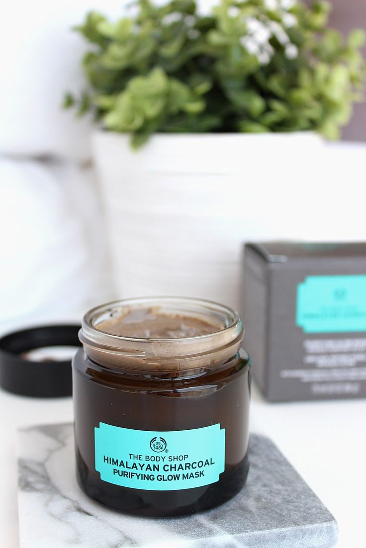 The Body Shop Himalayan Charcoal Purifying Glow Mask Review | Life in Excess Blog