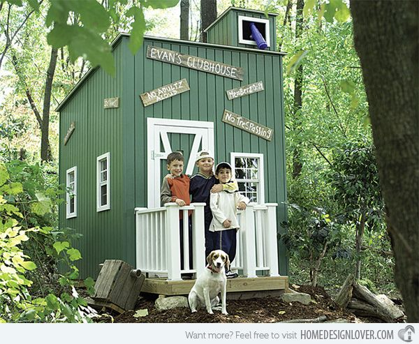 29 best whimsical playhouses images on pinterest for Whimsical playhouses