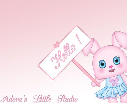 ❤ Happy Birthday Cute Video eCard Animation Teaser #1 ❤ ~kawaii ~bunny ~pink ~girly ~hello