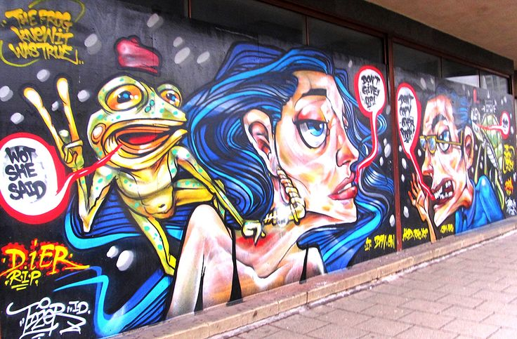 Aero Arts Graffiti Mural Blog London