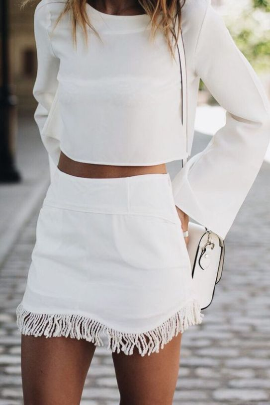 A flirty skirt is great for your college wardrobe!
